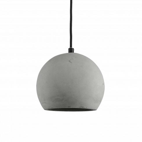 Подвесной светильник Nordic SphereПодвесные<br>Подвесной светильник Nordic Sphere — на первый взгляд, простая и весьма брутальная лампа, нона деле — самое последнее веяние в индустрии дизайна. Сегодня все дизайнеры пришли к тому, что современный интерьер должен быть ярким и индивидуальным, избавленным от любых границ и табу. Бетонный плафон лампы выглядит непривычно и одновременно заманчиво, ужбольно велик соблазн обыграть этот предмет в интерьере, интегрировать в домашнее пространство и сделать заметной, «увесистой» деталь...<br>