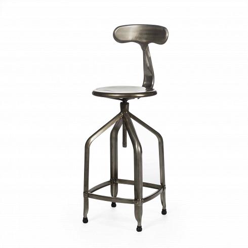 Барный стул NicolleБарные<br>В самый активный период развития индустрии во Франции в 1933 году появилась необходимость оборудовать заводы и фабрики надежной и функциональной мебелью. Стул Nicolle идеально удовлетворял всем предъявляемым требованиям.<br><br><br> Узнаваемой деталью этой модели является причудливая форма спинки. Она напоминает хвост кита, грациозно уходящего под воду. Отчасти благодаря этому элементу изначальная стилевая принадлежность стульев к промышленным интерьерам значительно раздвинула свои рамки, и те...<br>