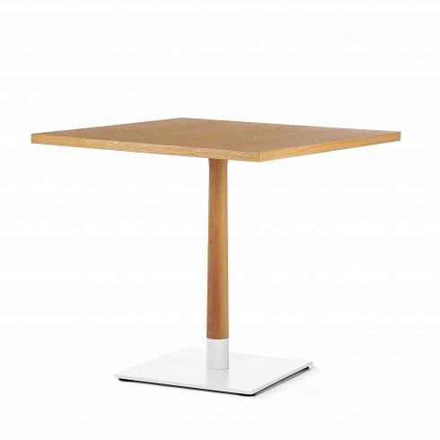 Обеденный стол Copine квадратныйОбеденные<br>Что означает минимализм в интерьере? Это прежде всего многофункциональная мебель, среди которой мы можем видеть лишь самую необходимую. Это позволяет обеспечить максимум пространства и воздуха, придает помещению легкость и впускает в него больше света. Именно такие задачи относительно обстановки комнаты у представленного здесь стола.<br><br><br> Стол Copine квадратный — разработка американского дизайнера Шона Дикса и его мастерской. Мебель Шона Дикса минималистична иинтеллектуальна, прекр...<br><br>DESIGNER: Sean Dix