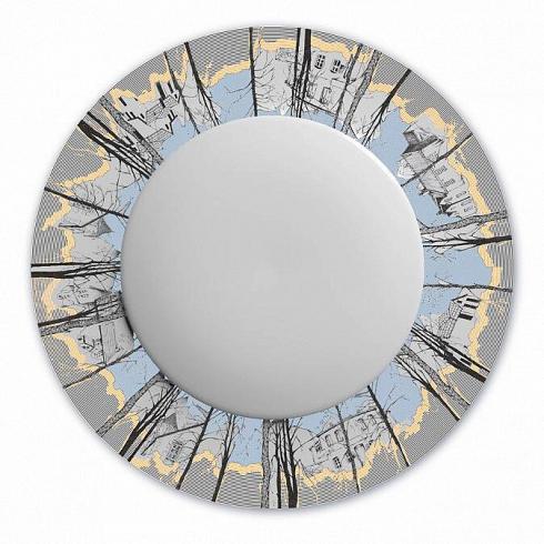 Тарелка столовая 'Дачи'