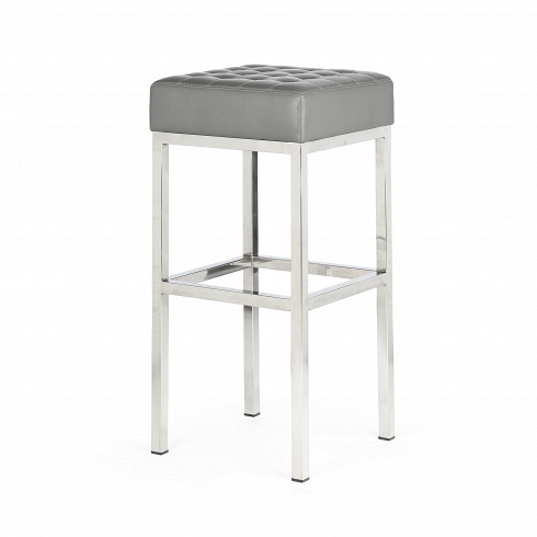 Стул барный QuadroБарные<br>Высокий барный стул Quadro — современная классика, выраженная в каждом миллиметре, творение Флоренс Нолл Бассетт, американского архитектора идизайнерам мебели, которая училась уМиса ван дер Роэ иЭэро Сааринена. Правильная геометрия барного стула Quadro порадует любого перфекциониста и привнесет особую эстетику в интерьер различной стилевой направленности, от техно до эклектики. <br><br>Четыре длинные ножки из прочной нержавеющей стали и высокой сиденье с качественной обивкой из ...<br><br>DESIGNER: Florence Knoll