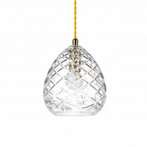 Подвесной светильник Crystal NetПодвесные<br>А что, позвольте поинтересоваться, ваза забыла у вас на потолке? И почему ко всему прочему она светит?<br> <br> А потому что дизайнерыподвесного светильника Crystal Net-большие виртуозы в своем деле. Материал, цвет, объемный узор - все это прямая отсылка к хрустальным вазам, которые по-прежнему хранятся у многих из нас. Но глядя на них никто не ожидал, что из них вышел бы отличный дизайнерский светильник! Свет, проходящий сквозь стенки изделия, изящно преломляется в гран...<br>