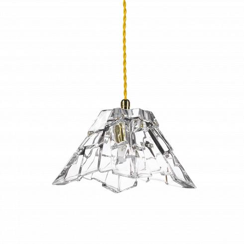 Подвесной светильник Crystal PeakПодвесные<br>Подвесной светильник Crystal Peak - изящная лампа, дизайн которой навеян сказками Ганса Христиана Андерсена.<br>Его необычная форма напоминаетхрустальнуювазу, но являет собой настоящий арт-объект с высокой декоративной силой. Изделие красиво,но между тем совсем не кричащее. Лишь разбирающиеся в тонкостях дизайна интерьера распознают всю красоту и неповторимость светильника Peak - скромный, но вместе с тем нежный облик - венец истинной красоты и гармонии.<br>Светильник од...<br>