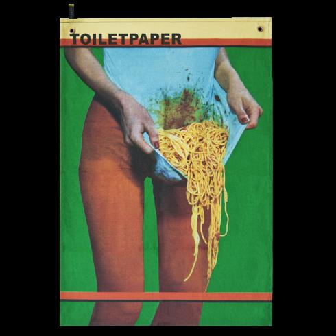 Полотенце PastaРазное<br>Мебель и декор от эксцентричных дизайнеров компанииSelettiвсегда отличаются крайней степенью броскости. Сложно представить стул или диван этого бренда с серенькой неприметной обивочкой— в меру удобный, в меру скромный. Одной из смелых жемчужин среди коллекций Seletti—кухонная утварьToiletpaper,названная в честь одноименного журнала, основанного в 2010 году художникомМаурицио Кателланоми фотографомПьерпауло Феррари. За время существов...<br>