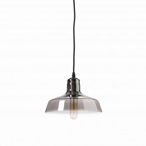 Подвесной светильник BoweryПодвесные<br>Оформление комнат в нестандартном стиле под названием лофт дает безграничный полет для фантазии и обычно требует немалого пространства для реализации дизайнерских идей. Подвесной светильник Bowery прекрасно подходит для достижения ощущения свободы в любом помещении.<br><br><br> Полупрозрачный и невероятно легкий на вид, данный светильник в стиле лофт идеально впишется в окружающую обстановку. Основа светильника изготовлена из стали черного цвета, а у полупрозрачного стеклянного плафона имеются...<br>