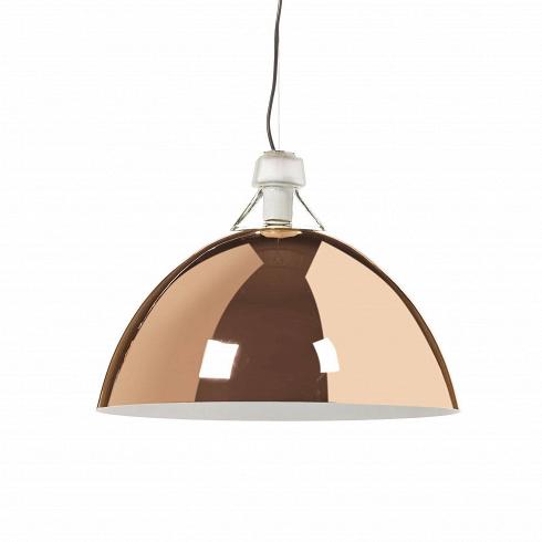 Подвесной светильник CopperПодвесные<br>Подвесной светильникCopper универсален для декорирования любого современного интерьера. В качестве цветового акцентаяркое глянцевое покрытие цвета медь органично подойдет для кухни и гостиной, оформленных в приглушенных цветах - серых, белых, бежевых тонах. <br><br>Любой понимающий в дизайне человек скажет, что подвесной светильник Copper находка для любого дизайнера. Это тот инструмент, который пригодится в декорировании различных по стилевой направленности интерьеров, будь то китч, ...<br>