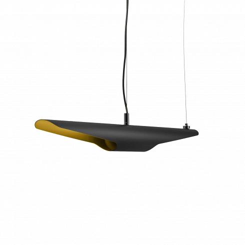 Подвесной светильник ColtraneПодвесные<br>Яркое сочетание черного и желтого цветов в интерьере положительно сказывается на творческую атмосферу. Такая комбинация настраивает на хорошее настроение и креативность. Подвесной светильник Coltrane — подходящий инструмент для создания стильного дизайна интерьера, который придется по нраву как молодежи, так бизнесменам и бизнес-леди. <br> <br> Модный подвесной светильник Coltrane, названный в честь легенды <br>джаза, американского музыканта Джона Колтрейна, — неподвластный времени <br>дизайн, соз...<br>