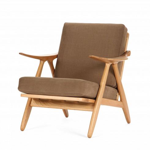 Кресло OlivianoИнтерьерные<br>Выбор подходящего кресла играет важную роль в комфортности и уюте всего помещения и наряду с диваном задает настроение в интерьере гостиной комнаты. Поэтому так важно подобрать кресло, которое подойдет именно вашему дому.<br><br><br> Невероятно теплое и уютное, дизайнерское кресло Oliviano гармонично сочетает в себе классическую лаконичную форму и удачно подобранный материал с приятной мягкой фактурой. Каркас кресла изготовлен из массива дерева благородной породы. Древесина белого дуба по-дост...<br>