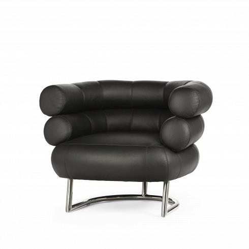 Кресло для отдыха BibendumИнтерьерные<br>Эйлин Грей разработала кресло Bibendum еще вначале 1900-х, нотогда это событие прошло незамеченным. Нопоявление оригинала этого кресла нааукционе 1972 года спровоцировало новое производство этой классики дизайна. Эйлин Грей — ирландский дизайнер, жившая и работавшая во Франции, создавшая предметы, ныне считающиеся иконами дизайна ХХ века. Эйлин Грей опередила время и создала предметы, сочетающие модернистскую логику, простоту, комфорт и аристократический шик.<br><br><br>...<br><br>DESIGNER: Eileen Gray