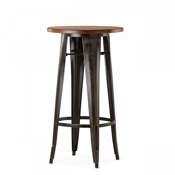 Барный стол Marais VintageБарные<br>Дизайнерский узкий высокий круглый стол Marais Vintage (Мэреиз Винтаж) на стальных ножках от Cosmo (Космо).<br><br><br> В широкий ассортимент коллекции Marais входят столы, кресла и стулья, дизайн который строго выдержан в индустриальном стиле. Стальной каркас, темное патинирование и элементы изВнатуральных пород дерева — характерные черты всех моделей коллекции. Благодаря этому они отлично подходят для декорирования домашних и коммерческих интерьеров в стиле лофт или индастриал.В<br><br><br>...<br><br>stock: 0<br>Высота: 107<br>Диаметр: 60<br>Цвет ножек: Ржавчина кофейная<br>Цвет столешницы: Антикварный<br>Материал столешницы: Массив ивы<br>Тип материала столешницы: Дерево<br>Тип материала ножек: Сталь<br>Дизайнер: Xavier Pauchard