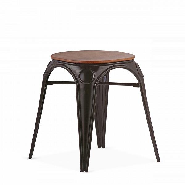 Табурет Louix высота 46Табуреты<br>Все модели мебельной коллекции Louix, которую разработал дизайнер Александр Аразола, выполнены в индустриальном стиле, который получает все большее распространение среди современных европейских интерьеров. Постоянные атрибуты стиля — темная натуральная древесина и металлический каркас, который чаще всего состарен или покрыт краской темного цвета.ВИндустриальный стиль, самый честный, откровенный, обнаженный. Показать все, что скрыто, — основная задача этого направления. Вся «подноготная» ...<br><br>stock: 0<br>Высота: 46<br>Диаметр: 45<br>Цвет ножек: Черный<br>Материал сидения: Массив ореха<br>Цвет сидения: Орех<br>Тип материала сидения: Дерево<br>Тип материала ножек: Сталь<br>Дизайнер: Alexandre Arazola