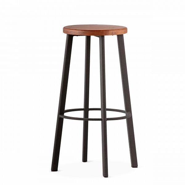 Барный стул StandardБарные<br>Барный стулВStandard отлично подходит для создания кухни в нью-йоркском стиле. Французские панорамные окна с видом на город, красные кирпичные стены, мебель индустриального дизайна — все это характерные черты кухонь в «Большом яблоке».В<br><br><br> Для дизайна интерьеров в этом стиле следует выбирать предметы мебели лаконичных форм и материалов, среди которых металл, дерево, камень.ВМассивные обеденные и барныеВстолы всегда становятся центром композиции. Для таких интерьеров...<br><br>stock: 0<br>Высота: 75<br>Диаметр: 40<br>Цвет ножек: Черный<br>Материал сидения: Массив ясеня<br>Цвет сидения: Темно-коричневый<br>Тип материала сидения: Дерево<br>Тип материала ножек: Сталь