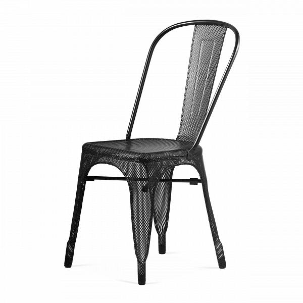 Стул Marais MeshИнтерьерные<br>Дизайнерский однотонный металлический стул Marais Mesh (Мэрейс Мэш) без подлокотников от Cosmo (Космо).<br><br>     Изящество стали. Создается ощущение, словно стул Marais Mesh одет в легкие, невесомые одеяния, отдаленно напоминающие восточные мотивы. И трудно поверить, что он относится к характерным представителям индустриального стиля.<br><br><br>     Такой стул будет хорошо себя чувствовать в любой обстановке. Ведь он выполнен по эскизам известного французского дизайнера Ксавье Пошара, изделия котор...<br><br>stock: 4<br>Высота: 85<br>Высота сиденья: 45<br>Ширина: 46<br>Глубина: 51<br>Тип материала каркаса: Сталь<br>Цвет каркаса: Черный<br>Дизайнер: Xavier Pauchard