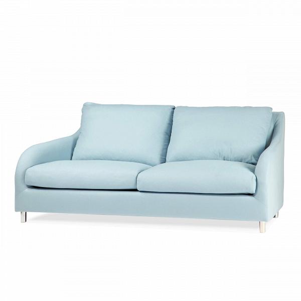 Диван Lily LuxДвухместные<br>Дизайнерский маленький двухместный диван Lily Lux (Лили Люкс) с тканевой обивкой от Sits (Ситс).<br><br><br> Диван Lily Lux — это элегантность и простота, соединенные в качественной и удивительно красивой мебели знаменитыми дизайнерами компании Sits. Красивые невысокие ножки, изящные подлокотники и мягкие подушки дивана — все это говорит нам об отличном качестве и соответствии дизайна дивана современным требованиям к домашнему интерьеру. На выбор имеется несколько легких светлых цветовых оттенков...<br><br>stock: 0<br>Высота: 85<br>Высота сиденья: 42<br>Глубина: 105<br>Длина: 186<br>Цвет ножек: Хром<br>Материал обивки: Шерсть, Полиамид<br>Коллекция ткани: Категория ткани III<br>Тип материала обивки: Ткань<br>Тип материала ножек: Металл<br>Цвет обивки: Голубой