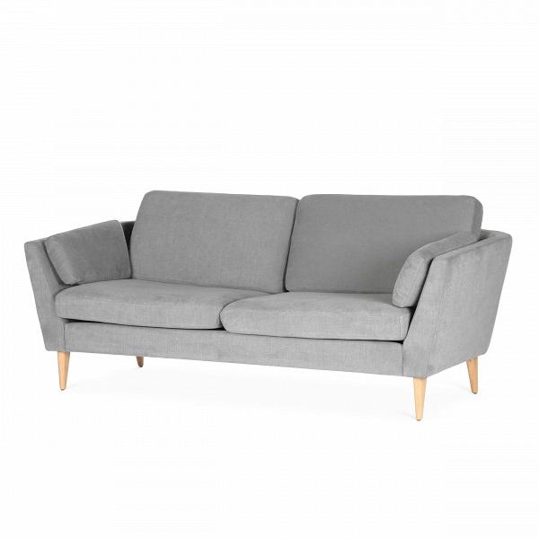 Диван Mynta ширина 200Трехместные<br>Дизайнерский удобный диван Mynta (Минта) классической формы на высоких деревянных ножках от Sits (Ситс).<br> Диван Mynta ширина 200 — произведение дизайнерского искусства компании Sits. Мебель Sits — это дизайн шведской школы, она отличается высоким качеством материалов и широкой цветовой палитрой. Экологичность материалов и профессионализм мастеров позволяют создавать предметы инновационного характера, которые нашли свое признание во всем мире.<br><br><br> Модель Mynta выполнена в стиле модерн, для...<br><br>stock: 1<br>Высота: 82<br>Высота сиденья: 45<br>Глубина: 87<br>Длина: 200<br>Цвет ножек: Дуб<br>Материал обивки: Хлопок, Лен<br>Степень комфортности: Стандарт комфорт<br>Коллекция ткани: Категория ткани II<br>Тип материала обивки: Ткань<br>Тип материала ножек: Дерево<br>Цвет обивки: Серый