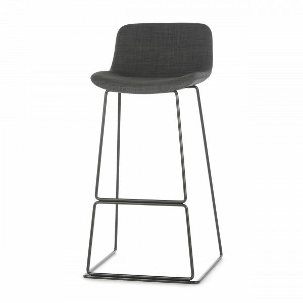 Барный стул Neo с мягкой обивкойБарные<br>Дизайнерский высокий барный стул Neo (Нео) с мягкой обивкой на стальных ножках от Cosmo (Космо). <br><br> Модель барного стула Neo с мягкой обивкой, основанная на оригинальных разработках шведского дизайнера Фредрика Маттсона, очаровывает с первого взгляда. Строение модели строго минималистичное. И в то же время универсальные цвета и геометрические формы со сглаженными углами замечательно впишутся в интерьерные композиции деревенского или конструктивного стиля, а также в некоторые интерпретации ...<br><br>stock: 0<br>Высота: 100<br>Высота сиденья: 76<br>Ширина: 48<br>Глубина: 49<br>Цвет ножек: Черный<br>Цвет сидения: Темно-серый<br>Тип материала сидения: Ткань<br>Тип материала ножек: Сталь<br>Дизайнер: Fredrik Mattson
