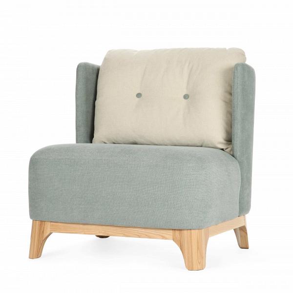 Кресло AlmaИнтерьерные<br>Дизайнерское интерьерное серое широкое кресло Alma (Алма) с воздушной спинкой от Sits (Ситс).<br><br>Ищете неповторимый рецепт комфорта? Он есть у Sits. Добавьте упругое сиденье, смешайте с воздушной спинкой, приправьте парой декоративных пуговиц, украсьте все это аппетитными округлыми подлокотниками — и перед вами кресло Alma.<br> <br> Дизайн кресла выполнен в соответствии с лучшими традициями экостиля: ткань и каркас натурального происхождения, мягкие формы, простота конструкции, пастельные тона ...<br><br>stock: 0<br>Высота: 78<br>Высота сиденья: 41<br>Ширина: 71<br>Глубина: 74<br>Цвет ножек: Беленый дуб<br>Цвет подушки: Бежевый<br>Материал обивки: Хлопок<br>Степень комфортности: Стандарт комфорт<br>Коллекция ткани: Категория ткани III<br>Тип материала обивки: Ткань<br>Тип материала ножек: Дерево<br>Цвет обивки: Мята