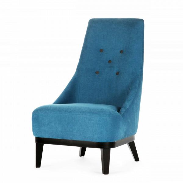 Кресло DonnaИнтерьерные<br>Дизайнерское комфортное кресло Donna (Дона) с обивкой из ткани на черных ножках от Sits (Ситс).<br><br><br> Двадцать лет назад, на заре своей карьеры, супруги Эрик и Майе Неcстрем нарезали ткань для изготовления своих кресел иВдиванов вручную, ими двигала страсть к своему делу. И сейчас сотрудники компании со шведскими корнями Sits — мастера воВвсем, что касается производства мягкой мебели: пуфов, кресел, модульных диванов.<br><br><br> Лаконичный дизайн и практичная форма кресла идеальны дл...<br><br>stock: 0<br>Высота: 97<br>Высота сиденья: 40<br>Ширина: 60<br>Глубина: 80<br>Цвет ножек: Черный<br>Материал обивки: Хлопок<br>Степень комфортности: Стандарт комфорт<br>Материал пуговиц: Полиэстер<br>Цвет пуговиц: Темно-серый<br>Коллекция ткани: Категория ткани II<br>Тип материала обивки: Ткань<br>Тип материала ножек: Дерево<br>Цвет обивки: Бирюзовый