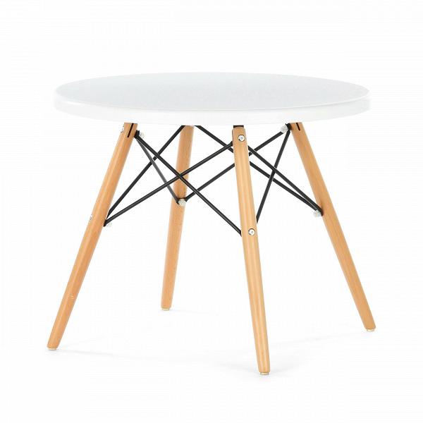 Кофейный стол EiffelКофейные столики<br>Дизайнерский стильный кофейный стол Eiffel (Айффел) с круглой столешницей на четырех светло-коричневых ножках от Cosmo (Космо).<br><br><br><br><br> Выполненный в стилистике 60-х годов кофейный стол Eiffel отвечает требованиям к мебели тех времен. Особенно ценились такие качества мебели, как функциональность и лаконичность. Обязательным элементом считались ножки (в данном случае — деревянные), устойчивые и при этом не массивные, которые делали пространство более легким и визуально «прозрачным». К том...<br><br>stock: 15<br>Высота: 47<br>Диаметр: 60<br>Цвет ножек: Светло-коричневый<br>Тип материала каркаса: Полипропилен<br>Тип материала ножек: Дерево<br>Цвет каркаса: Белый