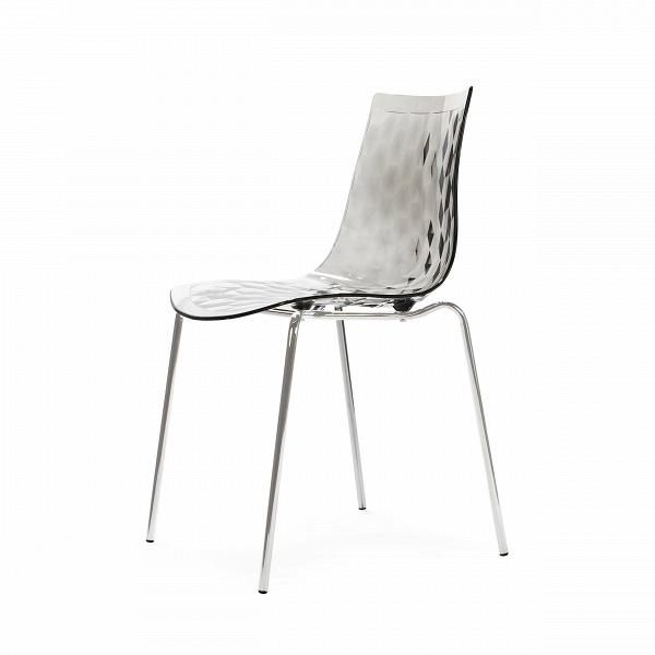 Стул GauzyИнтерьерные<br>Дизайнерский легкий светлый стул Gauzy (Гаузи) из поликарбоната на тонких стальных ножках от Cosmo (Космо).<br><br>     Приятный лаконичный дизайн стула Gauzy обязательно порадует даже самых строгих ценителей современного дизайна. Мягкие изгибы стула не только хороши на вид, но на нем и комфортно сидеть.В<br><br><br>     Необычное оригинальное ребристое тиснение на поверхности сиденья — одна из основных особенностей дизайна изделия. Также очень примечательным является выбор материала. Поликарбонат...<br><br>stock: 27<br>Высота: 83,5<br>Высота сиденья: 47<br>Ширина: 51,5<br>Глубина: 50,5<br>Цвет ножек: Хром<br>Материал каркаса: Поликарбонат<br>Тип материала каркаса: Пластик<br>Тип материала ножек: Сталь нержавеющая<br>Цвет каркаса: Дымчатый