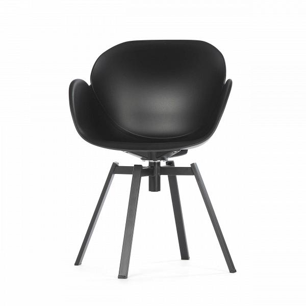 Кресло RezedaИнтерьерные<br>Дизайнерское стильное кресло Rezeda (Резида) из полипропилена на стальных ножках от Cosmo (Космо).<br><br><br>«Вкусные» изгибы кресла Rezeda отлично вписываются в интерьер стиля хай-тек, что доказывают доступные монохромные цветовые исполнения, а также отсутствие лишних деталей. Его минималистичный дизайн — настоящая находка для классическихВофисных интерьеров. На редкость гармоничное сочетание плавных линий и острых углов — отличительная особенность модели кресла.В<br><br><br><br> Изделие изг...<br><br>stock: 14<br>Высота: 84<br>Высота сиденья: 45<br>Ширина: 61<br>Глубина: 58<br>Цвет ножек: Черный<br>Тип материала обивки: Полипропилен<br>Тип материала ножек: Сталь нержавеющая<br>Цвет обивки: Черный
