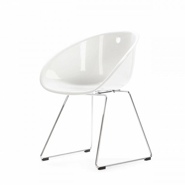 Стул ВistroИнтерьерные<br>Дизайнерский однотонный минималистичный стул-чаша Вistro (Вistro) на тонких стальных ножках от Cosmo (Космо).<br><br> Стул Bistro — это предмет, изготовленный из высокотехнологичных материалов, популярных в производстве офисной мебели. Используемый в производстве полипропилен невысок по цене. Он стоек ко всевозможным температурным перепадам, грубому механическому воздействию, а также к попаданию прямых солнечных лучей и влаге. Именно поэтому стул Bistro подходит для офисных помещений. Ножки стула...<br><br>stock: 4<br>Высота: 75<br>Высота сиденья: 45<br>Ширина: 54,5<br>Глубина: 58,5<br>Цвет ножек: Хром<br>Тип материала каркаса: Полипропилен<br>Тип материала ножек: Сталь нержавеющая<br>Цвет каркаса: Белый