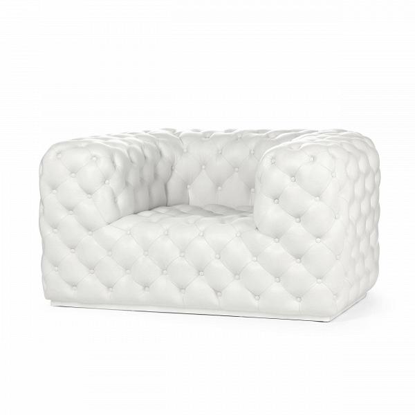 Кресло Small PaneИнтерьерные<br>Дизайнерское белое кожаное кресло Small Pane (Смолл Пен) прямоугольной формы от Cosmo (Космо)<br><br>Каретная стяжка, или капитоне, — технология обивки мягкой мебели, впервые появившаяся еще в Средние века, по-прежнему популярная среди современных потребителей. Зачастую в такой технике обрабатывалась лишь часть сиденья и спинки, однако в данной модели она покрывает всю поверхность. Благодаря все той же стяжке кресло очень мягкое. В нем можно просто раствориться, позабыв обо всех насущных пробле...<br><br>stock: 3<br>Высота: 72<br>Ширина: 113<br>Глубина: 104<br>Тип материала каркаса: Кожа анилиновая<br>Цвет каркаса: Белый