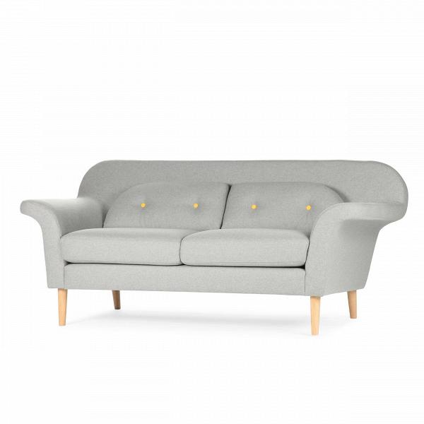 Диван PoppyДвухместные<br>Дизайнерский светло-серый диван Poppy (Поппи) из шерсти от Sits (Ситс).<br><br><br> Дизайнерский диван Poppy известной мебельной компании Sits — это комфорт и лаконичность в одном флаконе. Диван имеет классическую форму, которую украшают необычные по форме подушки и подлокотники. Изогнутые в стороны, подлокотники дивана Poppy невероятно комфортны, благодаря чему вы сможете отдохнуть в наиболее удобном для вас положении. Диван выполнен в светло-сером цвете со светлыми желтыми пуговицами на подушк...<br><br>stock: 0<br>Высота: 77<br>Высота сиденья: 45<br>Глубина: 85<br>Длина: 178<br>Цвет ножек: Дуб<br>Материал обивки: Шерсть, Полиамид<br>Степень комфортности: Стандарт комфорт<br>Материал пуговиц: Шерсть, Полиамид<br>Цвет пуговиц: Желтый<br>Коллекция ткани: Категория ткани III<br>Тип материала обивки: Ткань<br>Тип материала ножек: Дерево<br>Цвет обивки: Светло-серый