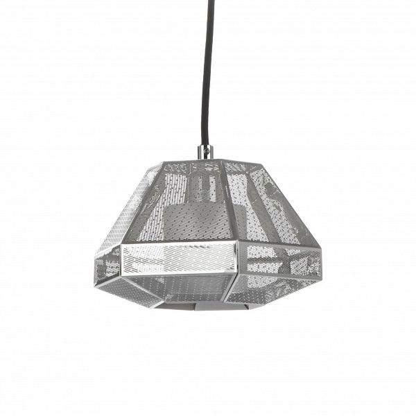Подвесной светильник Elliot высота 13 диаметр 20Подвесные<br>Элегантный подвесной светильник Elliot высота 13 диаметр 20<br>— это стильный подвесной источник света, абажур которого выполнен в популярном индустриальном стиле. Дизайн светильника будто взят прямиком из новомодных фильмов о космических кораблях. Элементы этого направления также встречаются и в лофт-интерьерах, поскольку для них нередко характерен промышленный дизайн со всей его грубоватой простотой.В<br> <br> Абажур подвесного светильникаВElliot высота 13 диаметр 20 <br>представляет собо...<br><br>stock: 19<br>Высота: 13<br>Диаметр: 20<br>Длина провода: 160<br>Количество ламп: 1<br>Материал абажура: Нержавеющая сталь<br>Мощность лампы: 25<br>Ламп в комплекте: Нет<br>Напряжение: 220<br>Тип лампы/цоколь: G9<br>Цвет абажура: Хром
