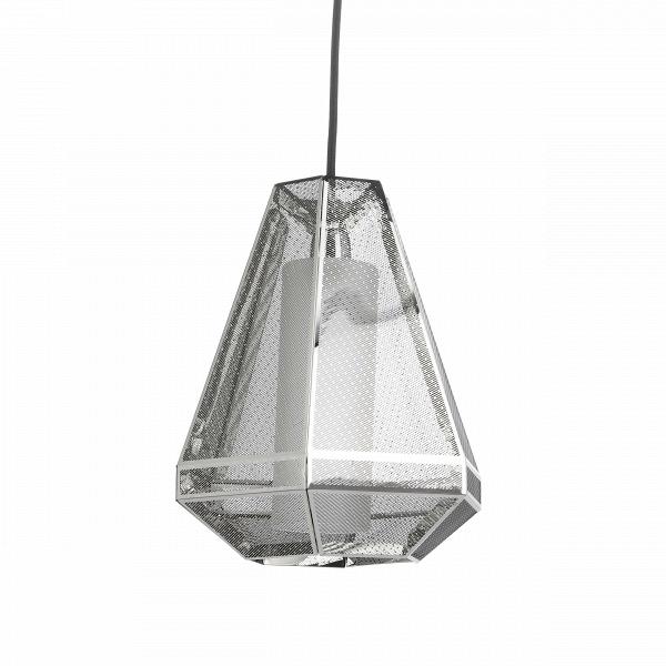 Подвесной светильник Elliot высота 27 диаметр 23Подвесные<br>Элегантный подвесной светильник Elliot высота 27 диаметр 23<br>— это стильный подвесной источник света, абажур которого выполнен в популярном индустриальном стиле. Дизайн светильника будто взят прямиком из новомодных фильмов о космических кораблях. Элементы этого направления также встречаются и в лофт-интерьерах, поскольку для них нередко характерен промышленный дизайн со всей его грубоватой простотой.В<br> <br> Абажур подвесного светильникаВElliot высота 27 диаметр 23 <br>представляет собо...<br><br>stock: 1<br>Высота: 27<br>Диаметр: 23<br>Длина провода: 150<br>Количество ламп: 1<br>Материал абажура: Нержавеющая сталь<br>Мощность лампы: 25<br>Ламп в комплекте: Нет<br>Напряжение: 220<br>Тип лампы/цоколь: G9<br>Цвет абажура: Хром