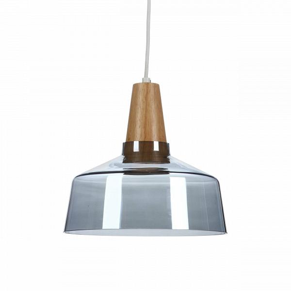 Подвесной светильник  Industrial диаметр 27,5Подвесные<br>Industrial — это небольшая коллекция подвесных светильников, дизайн которых выполнен в экостиле. Материалы, использованные в производстве (стекло, дерево, металл), соответствуют основным требованиям стиля. Все это природные материалы, подлежащие переработке и дальнейшей утилизации.В<br><br><br> Подвесной светильникВ Industrial диаметр 27,5 — стильная дизайнерская лампа, которая прекрасно дополнит любой современный интерьер от эклектики до лофта. Лучше всего он смотрится в гостиной или...<br><br>stock: 1<br>Высота: 180<br>Диаметр: 27,5<br>Материал абажура: Стекло<br>Материал арматуры: Дерево<br>Мощность лампы: 5<br>Ламп в комплекте: Нет<br>Напряжение: 220<br>Тип лампы/цоколь: LED<br>Цвет абажура: Синий