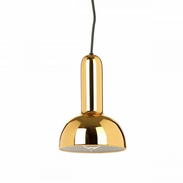 Подвесной светильник Torch RoundПодвесные<br>Вышедший на авансцену стиль лофт незамедлительно покорил сердца всех любителей современного дизайна. Грубоватый и непринужденный лофт популярен благодаря простору и органичности интерьеров. Нередко причудливый и броский, но непременно эффектный дизайн помещения тем не менее будет располагать к комфорту и заряжать вдохновением. Подвесной светильник Torch Round как раз идеально впишется в такой интерьер. Благодаря цветовому исполнению он не будет привлекать к себе излишнего внимания, органи...<br><br>stock: 0<br>Высота: 120<br>Диаметр: 15<br>Количество ламп: 1<br>Материал абажура: Сталь<br>Мощность лампы: 25<br>Ламп в комплекте: Нет<br>Напряжение: 220<br>Тип лампы/цоколь: E27<br>Цвет абажура: Золотой