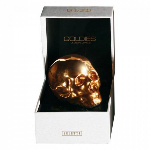 Фарфоровый череп Memorabilia в коробке