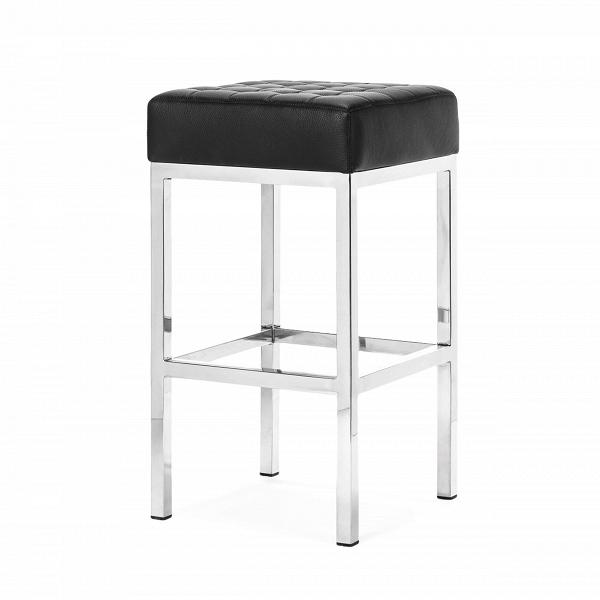 Полубарный стул FlorenceПолубарные<br>Существует огромное количество разных стульев для кухни. Постоянно появляются все новые модели, но функция у них всех одна — комфортное времяпрепровождение за столом. Сегодня многие отдают предпочтение полубарным стульям. И неудивительно, их внешний вид подчеркнет и дополнит любой интерьер.<br><br><br> Полубарный стул Florence от американского архитектора иВдизайнера мебели Флоренс Нолл, которая училась уВМиса ван дер Роэ и Ээро Сааринена, выглядит очень стильно и богато. Высокое сиде...<br><br>stock: 0<br>Высота: 66.5<br>Ширина: 37<br>Глубина: 37<br>Цвет ножек: Хром<br>Цвет сидения: Черный<br>Тип материала сидения: Кожа<br>Коллекция ткани: Premium Leather<br>Тип материала ножек: Сталь нержавеющая<br>Дизайнер: Florence Knoll