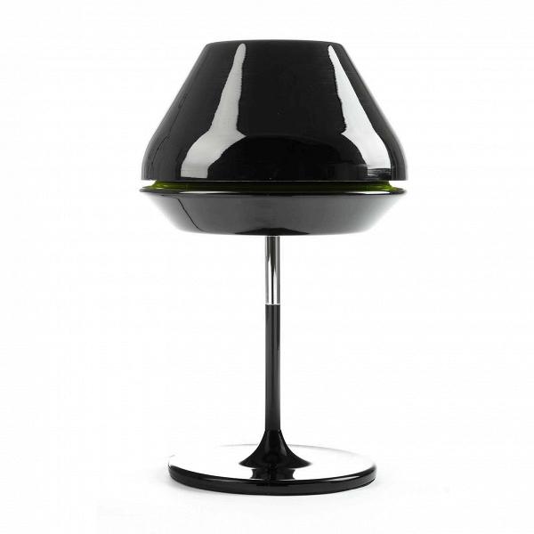 Настольный светильник SpoolНастольные<br>Дизайнерский настольный светильник Spool (Спул) на узкой ножке от Cosmo (Космо).<br><br>Модель данного настольного светильника Spool — результат весьма своеобразного вдохновения.ВС английского spool переводится как «катушка». Вдоль всего диаметра абажура светильника есть небольшая выемка другого цвета — яркий цветовой акцент, ожививший весь облик этого стильного предмета. Благодаря яркой цветовой полоске светильникВприобрел нечто схожее с самой обычной катушкой ниток. Да вот только ди...<br><br>stock: 3<br>Высота: 51<br>Диаметр: 32<br>Количество ламп: 1<br>Материал абажура: Акрил<br>Материал арматуры: Алюминий<br>Мощность лампы: 60<br>Ламп в комплекте: Нет<br>Напряжение: 220<br>Тип лампы/цоколь: E27<br>Цвет абажура: Черный