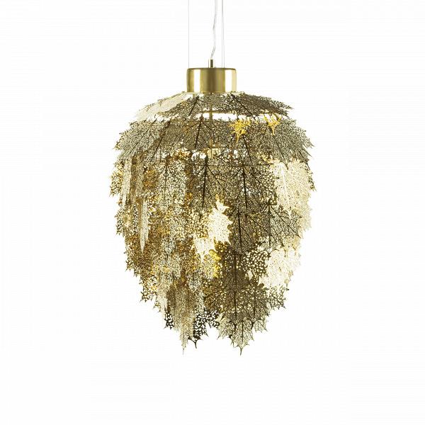 Подвесной светильник Maple диаметр 34Подвесные<br>Подвесной светильник Maple диаметр 34 сразу вызывает желание рассмотреть его более детально. Словно составленный из хрупких золотых (серебряных) снежинок, он напоминает изящное ювелирное украшение. Неудивительно, ведь его создатель — известный дизайнер Брайан Расмуссен.В<br><br><br> Брайан окончил Королевскую академию архитектуры в Копенгагене в 2000 году и уже на первом курсе стал победителем национального конкурса Prisopgave KГёbenhavns, представив на нем проект футуристической станц...<br><br>stock: 1<br>Высота: 160<br>Диаметр: 34<br>Материал абажура: Нержавеющая сталь<br>Ламп в комплекте: Нет<br>Напряжение: 220<br>Тип лампы/цоколь: LED<br>Цвет абажура: Золотой