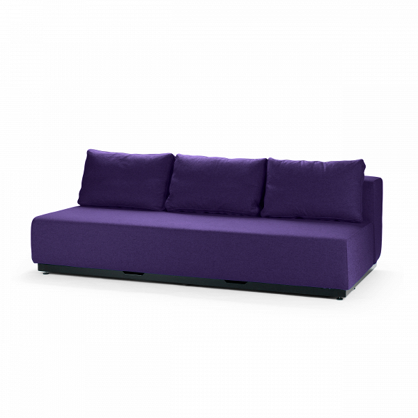 Диван Nevada 3-PРаскладные<br>Дизайнерский удобный диван Nevada (Невада) без подлокотников на низких ножках от Softline (Софтлайн).<br> Датская компания Softline — известный представитель минималистичных решений в дизайне интерьера. Этот бренд известен прежде всего своей мягкой мебелью, с изготовления которой в 1979 году началась история компании. Экспериментируя с формами и цветами, дизайнеры остаются верными главной идее, и поэтому в диванах Softline всегда заметна яркая индивидуальность: однотонные расцветки (ткани с пр...<br><br>stock: 0<br>Высота: 75<br>Высота сиденья: 35<br>Глубина: 107<br>Длина: 200<br>Материал обивки: Шерсть, Полиамид<br>Коллекция ткани: Felt<br>Тип материала обивки: Ткань<br>Цвет обивки: Тёмно-сиреневый<br>Дизайнер: Busk + Hertzog