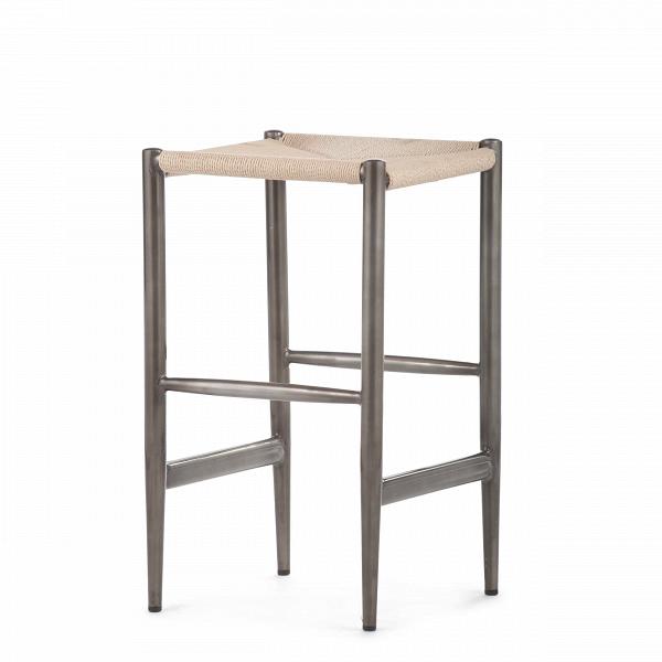 Барный стул WegnerБарные<br>Дизайнерский бежевый барный стул Wegner (Вегнер) из ротанга от Cosmo (Космо). <br><br><br><br> Удобный и практичный оригинальный барный стул Wegner — это модель барного стула, которая идеально подходит для интерьера современных кухонь. Его дизайн являет собой отличное сочетание прочных материалов — ротанга и нержавеющей стали. Полная симметрия и правильная геометрия делают его дизайн лаконичным и вместе с тем минималистичным.<br><br><br> Дизайн стула соответствует популярному в северныхВстранах датс...<br><br>stock: 0<br>Высота: 66<br>Ширина: 38<br>Глубина: 38<br>Тип материала каркаса: Сталь<br>Цвет сидения: Бежевый<br>Тип материала сидения: Ротанг<br>Цвет каркаса: Бронза пушечная