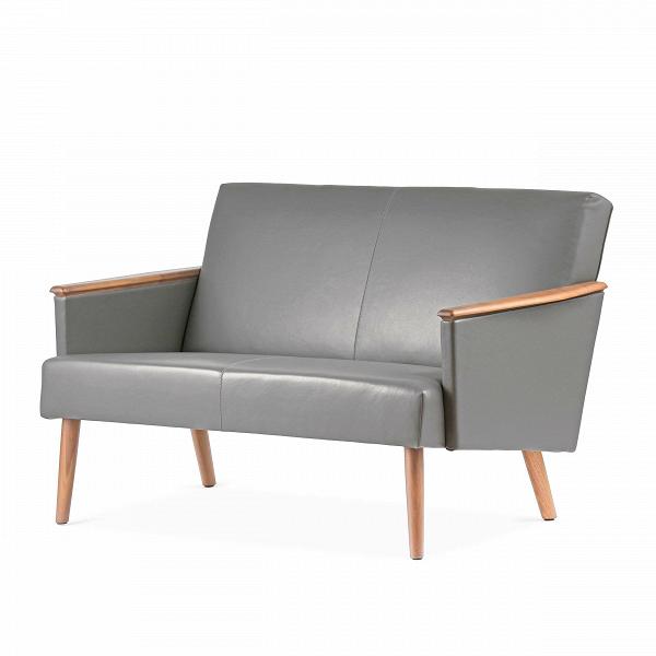 Диван Harry двухместныйДвухместные<br>Дизайнерский двухместный диван Harry (Гарри) с дубовым каркасом и длинными деревянными ножками от Cosmo (Космо)<br><br><br> Выбор дивана по-настоящему определяет будущую атмосферу и стиль помещения. Важно учесть множество факторов: размер, материал обивки и каркаса, дизайн интерьера, в который он въедет, его назначение. Будет диван стоять в деловом офисе или уютной гостиной? Все это необходимо иметь в виду при выборе такого важного предмета мебели.<br><br><br> Оригинальный диван Harry двухместный пора...<br><br>stock: 1<br>Высота: 77,5<br>Глубина: 79,5<br>Длина: 128<br>Материал каркаса: Массив дуба<br>Тип материала каркаса: Дерево<br>Коллекция ткани: Harry Leather<br>Тип материала обивки: Кожа<br>Цвет обивки: Темно-серый<br>Цвет каркаса: Дуб