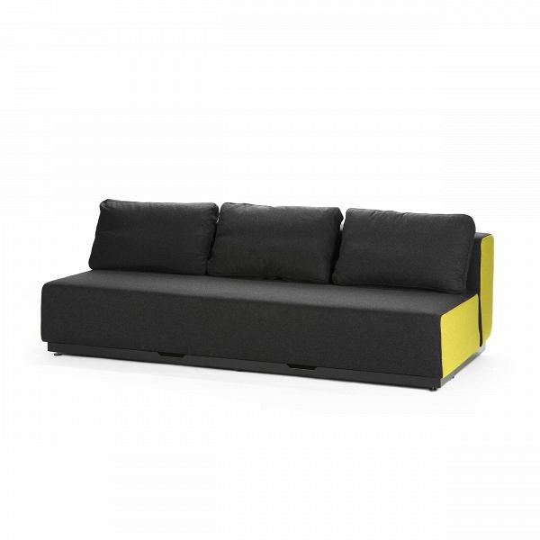 Диван Nevada 3-PРаскладные<br>Дизайнерский удобный диван Nevada (Невада) без подлокотников на низких ножках от Softline (Софтлайн).<br> Датская компания Softline — известный представитель минималистичных решений в дизайне интерьера. Этот бренд известен прежде всего своей мягкой мебелью, с изготовления которой в 1979 году началась история компании. Экспериментируя с формами и цветами, дизайнеры остаются верными главной идее, и поэтому в диванах Softline всегда заметна яркая индивидуальность: однотонные расцветки (ткани с пр...<br><br>stock: 0<br>Высота: 75<br>Высота сиденья: 35<br>Глубина: 107<br>Длина: 200<br>Материал обивки: Шерсть, Полиамид<br>Цвет обивки дополнительный: Желтый<br>Коллекция ткани: Felt<br>Тип материала обивки: Ткань<br>Цвет обивки: Антрацит<br>Дизайнер: Busk + Hertzog