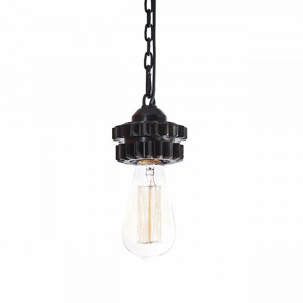 Подвесной светильник (шестерня)Подвесные<br><br><br>stock: 0<br>Высота: 7<br>Диаметр: 10<br>Количество ламп: 1<br>Материал арматуры: Металл<br>Мощность лампы: 100<br>Ламп в комплекте: Нет<br>Напряжение: 220<br>Тип лампы/цоколь: E27