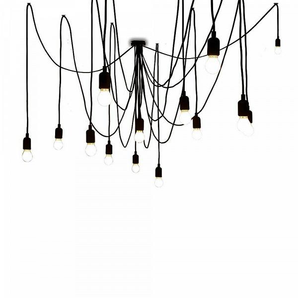 Подвесной светильник MamanПодвесные<br>Создайте драматичный акцент с помощью подвесного светильника Maman. В комплект входят 14 LED-ламп, а такжеВ7 трехметровых и 7 четырехметровых черных кабелей. Расположить их можно как угодно в зависимости от личных предпочтений и дизайнерской задумки — создайте изогнутую линию кабеля или же подвесьте их как пучок. А вот что касается стилевой принадлежности подходящих для него интерьеров, то тут можно изрядно поломать голову. Авангард, лофт, конструктивизм и, разумеется, эклектика — вот те...<br><br>stock: 0<br>Цвет провода: Черный