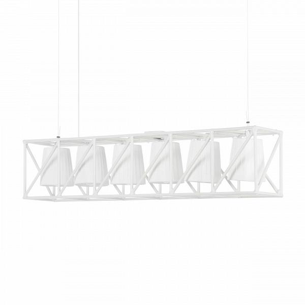 Подвесной светильник  MultilampПодвесные<br>Подвесной светильник Multilamp от дизайнера Эмануэле Маджини — это ультрамодный софит, соединяющий в себе свет шести ярких LED-ламп. Строгий дизайн светильника определенно придется по вкусу всем любителям грубоватых форм. Четкие грани и правильные геометрические формы изделия говорят о превосходном вкусе создателей этого софита.<br> <br> Порой компания Seletti, для которой подвесной светильник Multilamp и был разработан, демонстрирует совершенно необычные для себя линейки. Но тут компания осталас...<br><br>stock: 0<br>Высота: 22<br>Ширина: 22<br>Длина: 103<br>Материал арматуры: Металл<br>Цвет арматуры: Белый