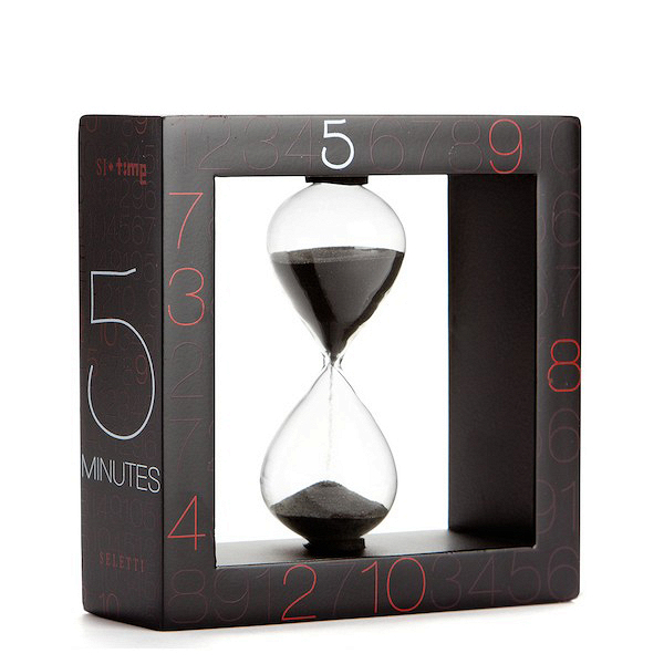Песочные часы Si-Time на 5 минут от Cosmorelax