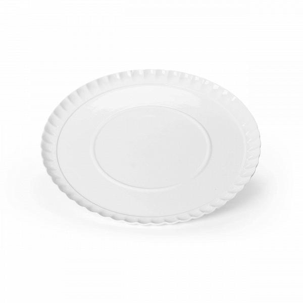 Блюдо Estetico QuotidianoПосуда<br>Блюдо Estetico Quotidiano из коллекции столовой посуды Estetico Quotidiano. Что вВнашей жизни может быть привычнее иВнезаметнее, чем, например, одноразовая посуда или пластиковые бутылки? Разве только посуда вВсобственном доме, наВрисунок которой уже давно неВобращаешь внимания.<br><br><br> Дизайнер Алессандро Дзамбелли совместно с компанией Seletti выпустили коллекцию столовой посуды под названием Estetico Quotidiano, что можно перевести сВитальянского языка к...<br><br>stock: 3<br>Материал: Фарфор<br>Цвет: Белый<br>Диаметр: 37,5