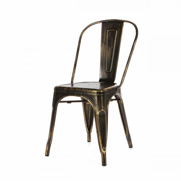 Стул Marais AgedИнтерьерные<br>Дизайнерский винтажный жесткий стул Marais Aged (Мэрейс Эгед) из стали цвета антикварного золота от Cosmo (Космо).<br>Стул Marais Aged — это дизайн, ставший с момента создания настоящей иконой мебели в современном стиле. Появившись еще в середине прошлого столетия, Marais активно набирал популярность в качестве интерьерной мебели. Но его дизайнер Ксавье Пошар предполагал использовать его на производственных предприятиях, таких как фабрики и заводы. Однако дизайн изделия так приглянулся тогдашне...<br><br>stock: 44<br>Высота: 84,5<br>Ширина: 53<br>Глубина: 45<br>Тип материала каркаса: Сталь<br>Цвет каркаса: Золото антикварное<br>Дизайнер: Xavier Pauchard
