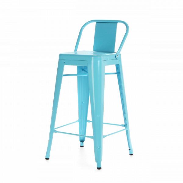 Барный стул Marais Color со спинкойБарные<br>Дизайнерский высокий стальной барный стул Marais Color (Мэрейс Калар) со спинкой от Cosmo (Космо). <br>Высокий барный стул Marais Color со спинкой — это изящное по своему дизайну изделие, которое заслужило популярность не только на родине дизайнера Ксавье Пошара, во Франции, но и по всему миру. Дизайн мебели коллекции Marais не раз был удостоен отличительных наград и демонстрировался на выставках международного масштаба, к примеру, в Нью-Йоркском музее современного искусства, а также в Музее-це...<br><br>stock: 20<br>Высота: 89<br>Высота сиденья: 66<br>Ширина: 41<br>Глубина: 41<br>Тип материала каркаса: Сталь<br>Цвет каркаса: Голубой<br>Дизайнер: Xavier Pauchard