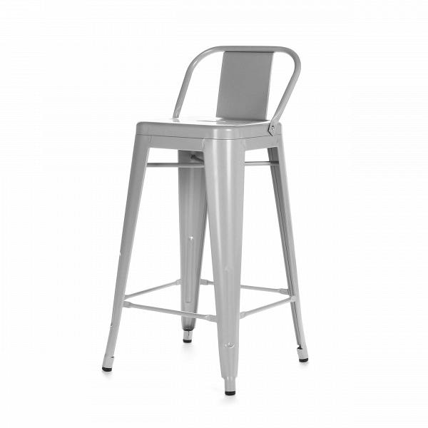 Барный стул Marais Color со спинкойБарные<br>Дизайнерский высокий стальной барный стул Marais Color (Мэрейс Калар) со спинкой от Cosmo (Космо). <br>Высокий барный стул Marais Color со спинкой — это изящное по своему дизайну изделие, которое заслужило популярность не только на родине дизайнера Ксавье Пошара, во Франции, но и по всему миру. Дизайн мебели коллекции Marais не раз был удостоен отличительных наград и демонстрировался на выставках международного масштаба, к примеру, в Нью-Йоркском музее современного искусства, а также в Музее-це...<br><br>stock: 10<br>Высота: 89<br>Высота сиденья: 66<br>Ширина: 41<br>Глубина: 41<br>Тип материала каркаса: Сталь<br>Цвет каркаса: Серый<br>Дизайнер: Xavier Pauchard