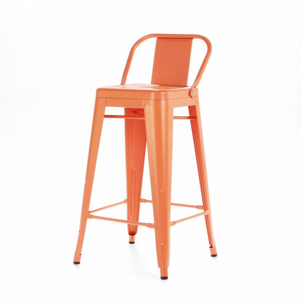 Барный стул Marais Color со спинкойБарные<br>Дизайнерский высокий стальной барный стул Marais Color (Мэрейс Калар) со спинкой от Cosmo (Космо). <br>Высокий барный стул Marais Color со спинкой — это изящное по своему дизайну изделие, которое заслужило популярность не только на родине дизайнера Ксавье Пошара, во Франции, но и по всему миру. Дизайн мебели коллекции Marais не раз был удостоен отличительных наград и демонстрировался на выставках международного масштаба, к примеру, в Нью-Йоркском музее современного искусства, а также в Музее-це...<br><br>stock: 18<br>Высота: 89<br>Высота сиденья: 66<br>Ширина: 41<br>Глубина: 41<br>Тип материала каркаса: Сталь<br>Цвет каркаса: Оранжевый<br>Дизайнер: Xavier Pauchard