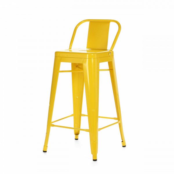 Барный стул Marais Color со спинкойБарные<br>Дизайнерский высокий стальной барный стул Marais Color (Мэрейс Калар) со спинкой от Cosmo (Космо). <br>Высокий барный стул Marais Color со спинкой — это изящное по своему дизайну изделие, которое заслужило популярность не только на родине дизайнера Ксавье Пошара, во Франции, но и по всему миру. Дизайн мебели коллекции Marais не раз был удостоен отличительных наград и демонстрировался на выставках международного масштаба, к примеру, в Нью-Йоркском музее современного искусства, а также в Музее-це...<br><br>stock: 3<br>Высота: 89<br>Высота сиденья: 66<br>Ширина: 41<br>Глубина: 41<br>Тип материала каркаса: Сталь<br>Цвет каркаса: Желтый<br>Дизайнер: Xavier Pauchard